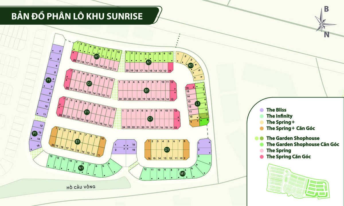 mat bang phan khu sunrise villas